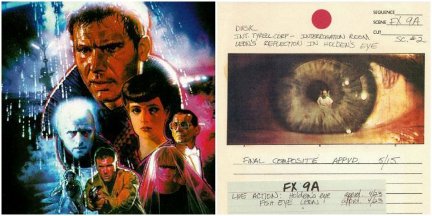 Original storyboards from 'Blade Runner'