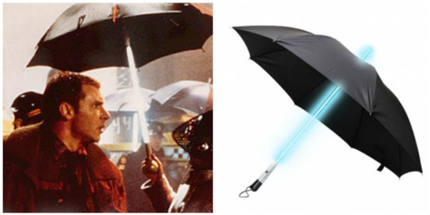 Stay dry in today's dystopian cyberpunk reality with a Blade Runner umbrella