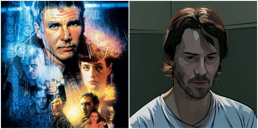 'Blade Runner' and 'A Scanner Darkly' reconstructed with an autoencoder