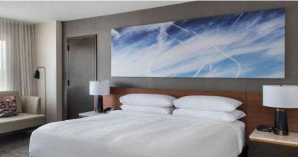 Chemtrail activists outraged over tacky hotel room artwork