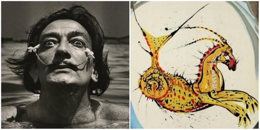 Salvador Dali's signs of the Zodiac