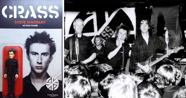 Crass anarcho-punk action figure: Do they owe us a plaything?