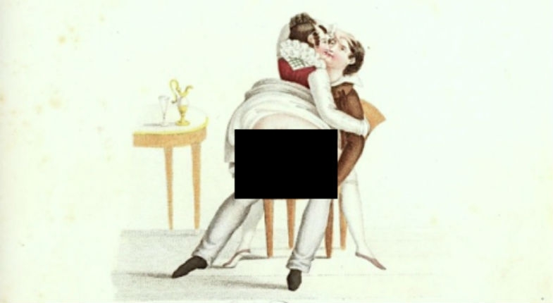 Erotic engravings from a poem celebrating sex, 1825 (NSFW)