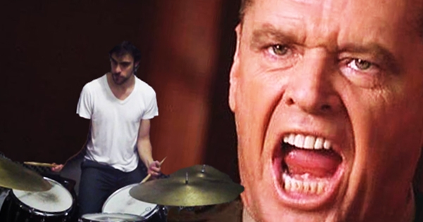 'You can't handle the drums!': Percussion whiz turns iconic movie monologue into jazz