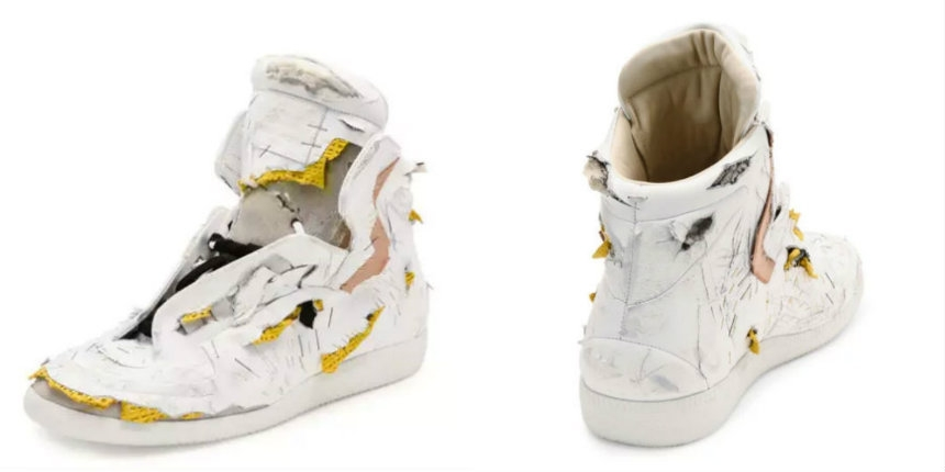 Neiman Marcus is selling destroyed high-top sneakers for ONLY $1,425!