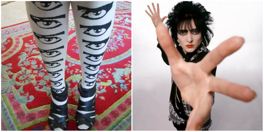 Mechanical Eyes: Siouxsie Sioux EYE tights