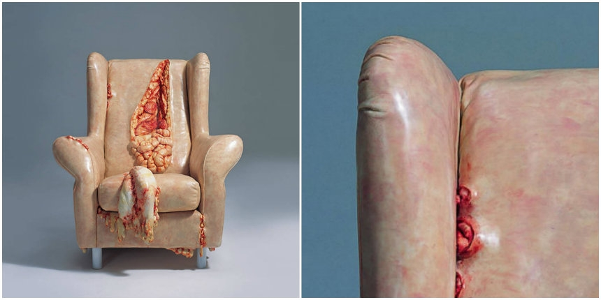 Everyday objects get a grotesque, fleshy makeover