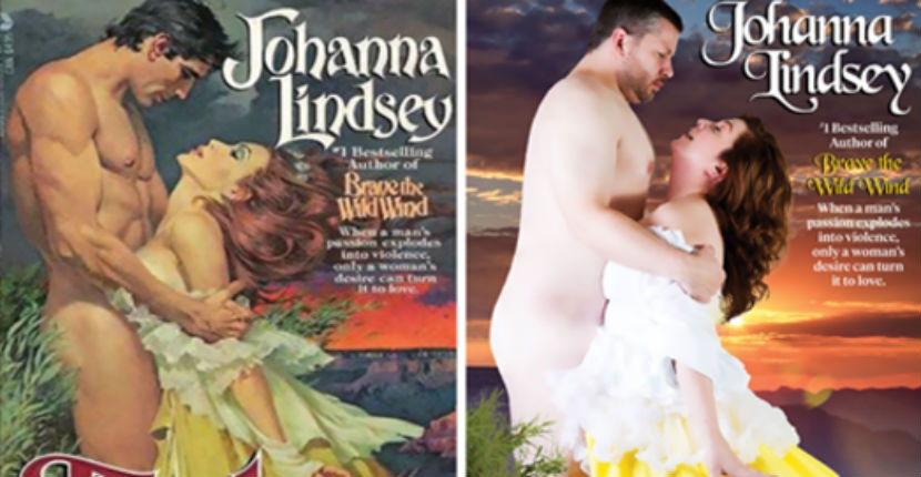 Average Joes, not Fabios: Regular people recreate cheesy romance novel covers (and it's perfect!)