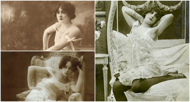 Erotic French postcards from the early 1900s (NSFW)