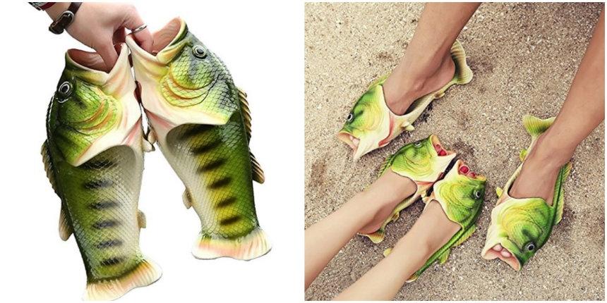 Finally! Some decent-looking fish flip flops