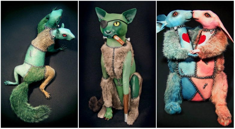 'Frankenpussy': The terrifying 'Rogue Taxidermy' of Sarina Brewer