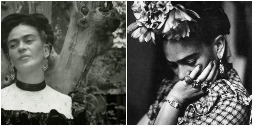 30 gorgeous black & white photos of Frida Kahlo