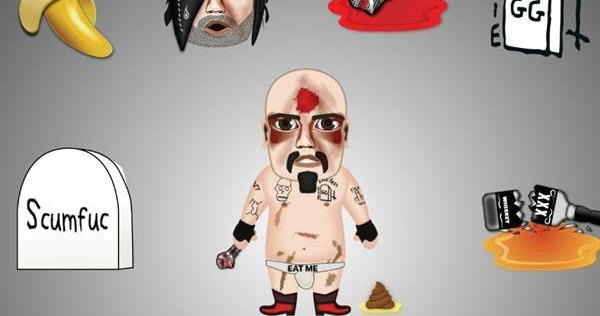 You'll be GG LOL'n with these GG Allin emojis!