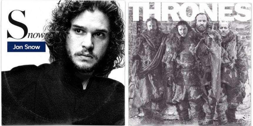 What if 'Game of Thrones' characters had released iconic albums?