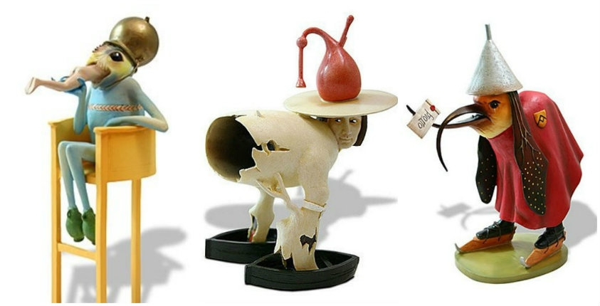 Collectable Hieronymus Bosch figurines