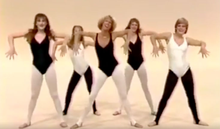 This Jazzercise supercut from 1983 is what the world needs RIGHT NOW