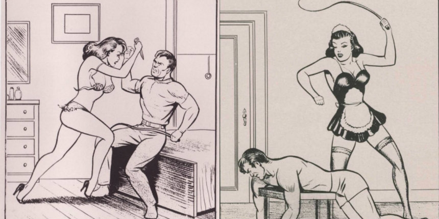 The story of illustrator Joe Shuster: From 'Superman' to super sleaze