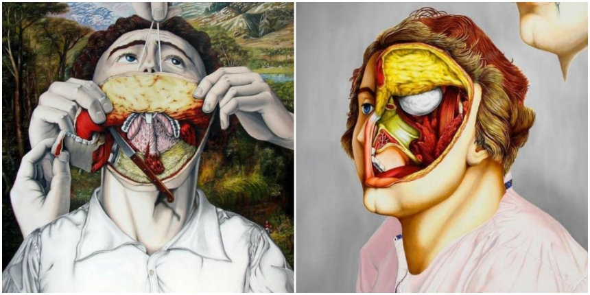 Surreal depictions of the human body by the 'Hannibal Lecter' of the art world