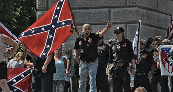 Nazis and KKK held a pro Confederate flag rally in SC because it's all about 'heritage, not hate'
