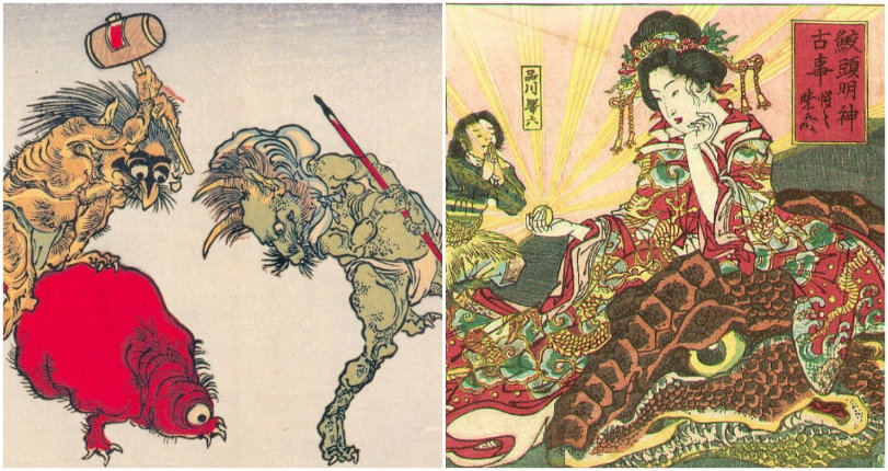 Sodomy, sake, murderous monsters & sketches straight from Hell: The art of Kawanabe Kyōsai