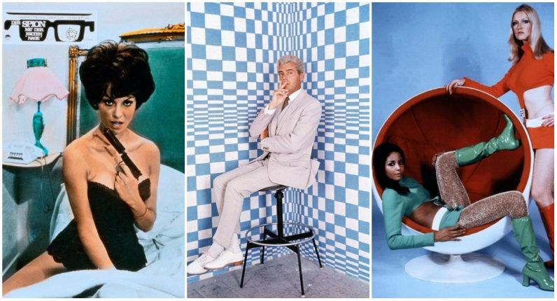 Ultra stylish lobby cards from the fashionable world of 1960s British cinema