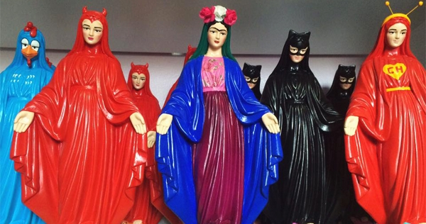 'Blasphemous' Brazilian artist under fire for turning religious figures into pop culture icons
