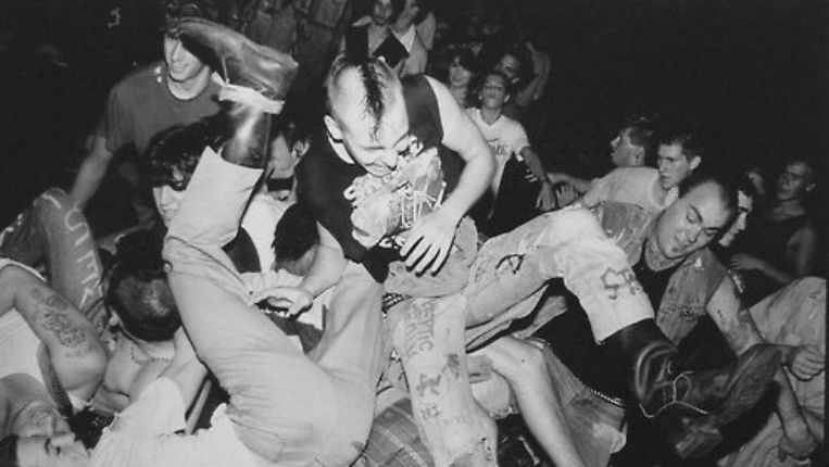 Beware The Dangers Of The Mosh Pit A Look Back Dangerous Minds