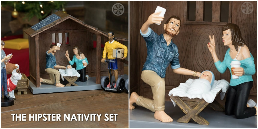 Sweet Jesus: There's a 'hipster' nativity scene you can buy
