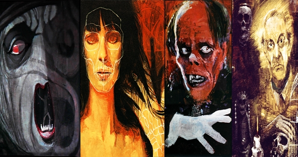A gallery of the paintings from Rod Serling's 'Night Gallery'