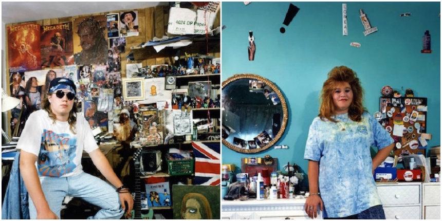 Photos of nineties kids in their bedrooms