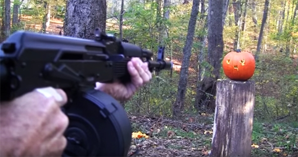 'Welcome to Tennessee where we carve our Halloween pumpkins with assault weapons'
