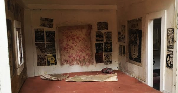 Art show features dollhouse rendition of an archetypal 'punk house'