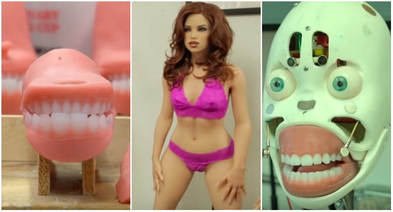 Creepy short video exposes the very unsexy way sex dolls are made (NSFW)