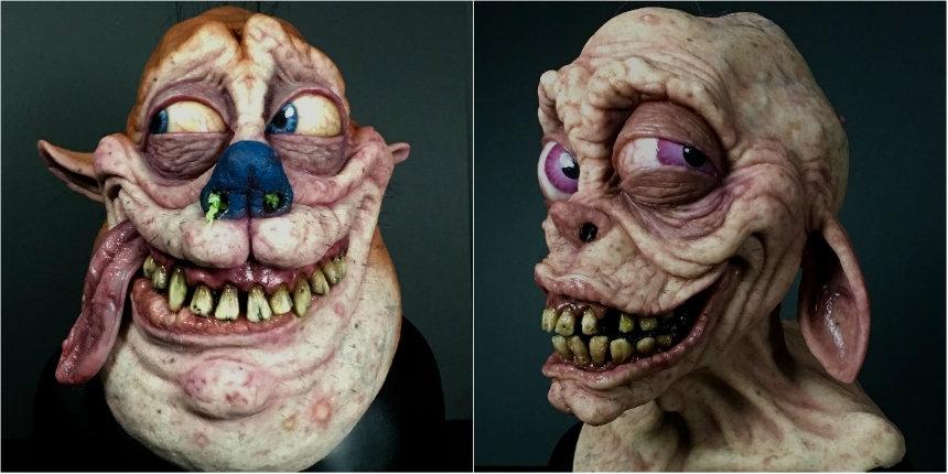'Happy happy joy joy!': Hyper-realistic Ren & Stimpy masks
