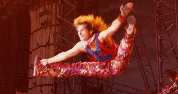 'Whoooo!' Watch this ridiculously over-the-top David Lee Roth karate kick compilation