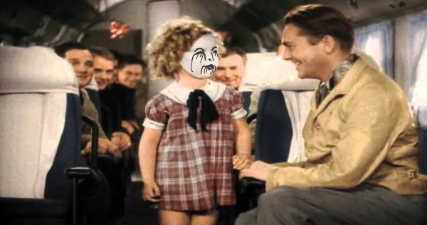 Shirley Temple's brutal death metal rendition of 'On the Good Ship Lollipop'