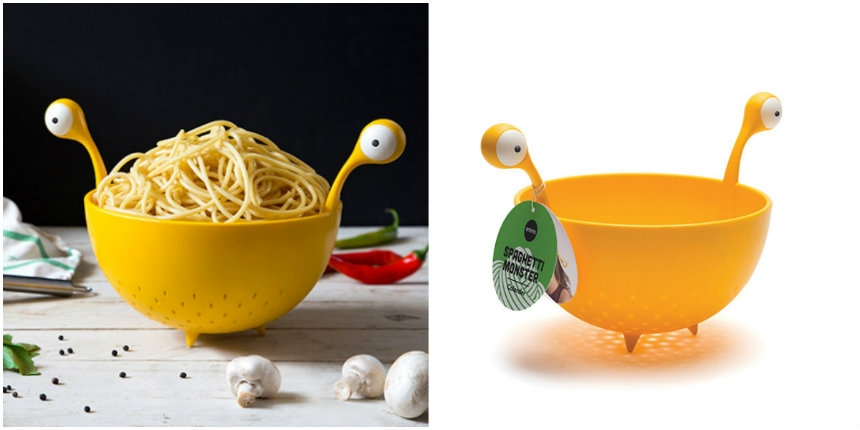 Yep! At long last there's a Flying Spaghetti Monster colander!