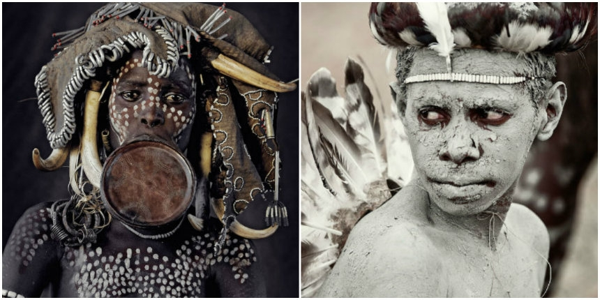 'Before They Pass Away': Stunning photographs of disappearing tribes from around the world