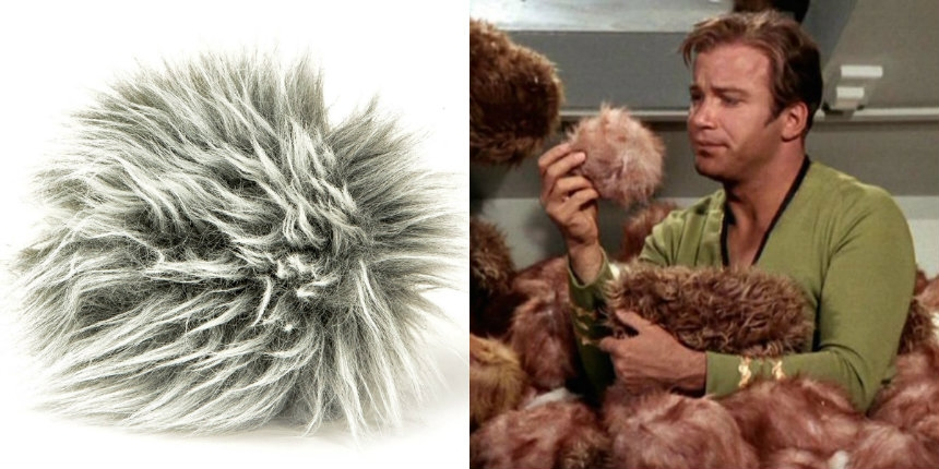 You can now own your very own plush Tribble from 'Star Trek'