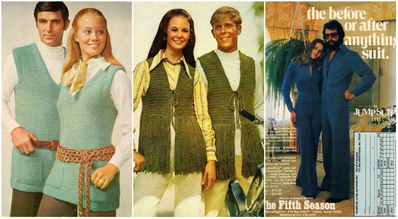 The knitted and polyester horror of when 'His & Her' fashion was A THING