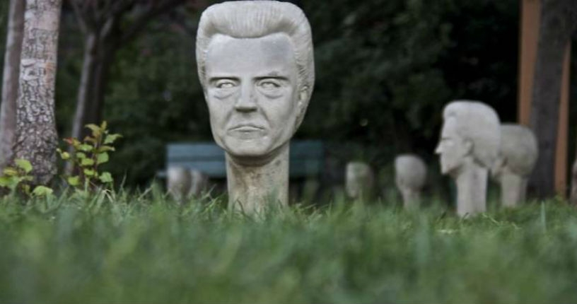 There's a park in Queens with Christopher Walken heads everywhere