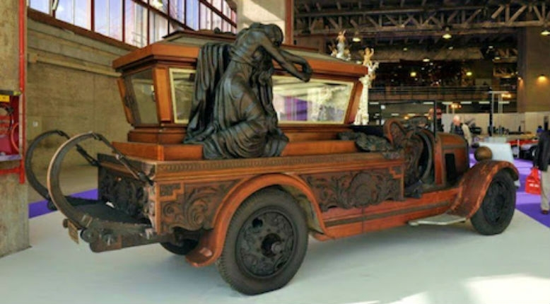 Tricked out final rides: Vintage hearses from around the world