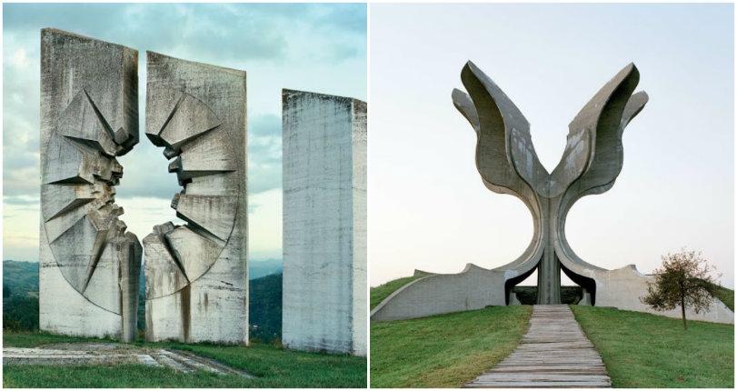 Stark war memorials of Yugoslavia