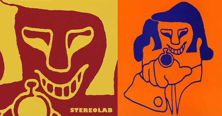 The intriguing origins of 'Cliff,' the cartoon character that's all over Stereolab's early album art