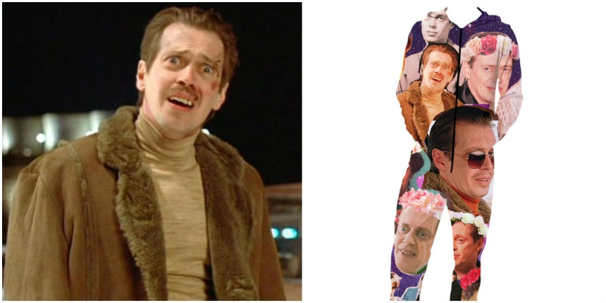 Behold the 'holy grail' of fashion: Adult onesie features the many faces of Steve Buscemi