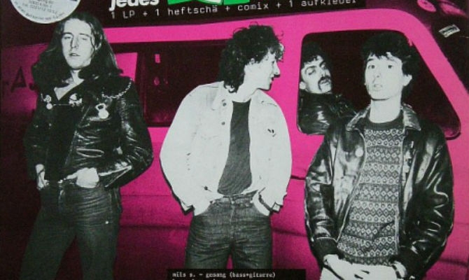 Strassenjungs: The 'fake' German punk rockers who toured with The Clash