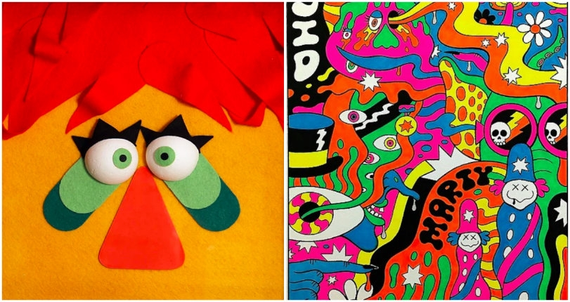 H.R. Pufnstuf, Witchiepoo & other homages to Sid & Marty Krofft in the 'Krofft Super Art Show'