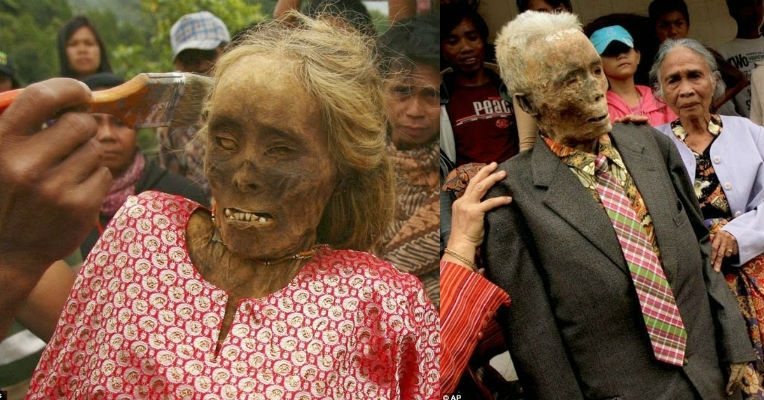 The amazing mummies and infant tree burials of central Indonesia