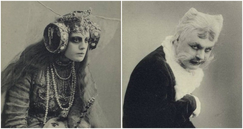 Haunting photographs from 'The Blue Bird' a fantasy play performed in Moscow in 1908