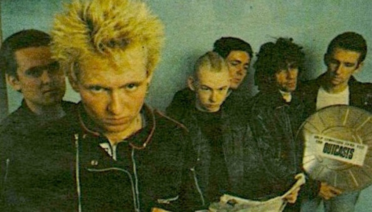 Legendarily obnoxious Irish punks, The Outcasts: 'The band you love to hate!'